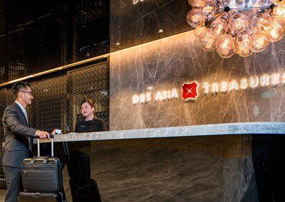 Changi Airport Terminal 3 – DBS Asia Treasures Lounge