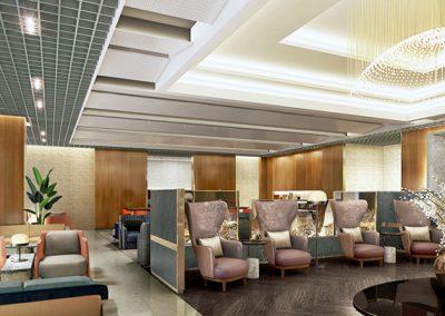 Changi Airport Terminal 3 – SIA Krisflyer Lounge