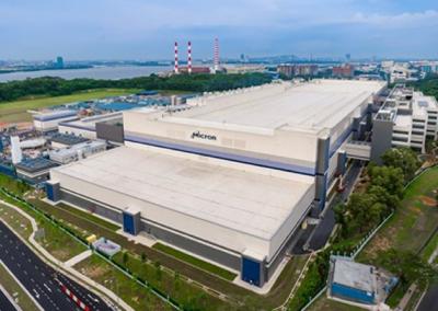 Micron Fabrication Plant 10X